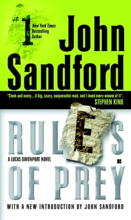 John Sandford Rules Of Prey
